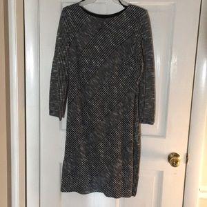 Long sleeve, knit sweater dress